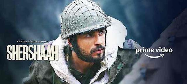 Shershaah Movie Amazon Prime, Sidharth Malhotra in Shershaah movie