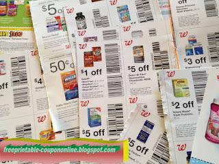 Free Printable Walgreens Coupons