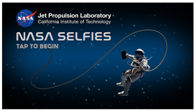 NASA Selfies - Out of the World Selfie Mobile app
