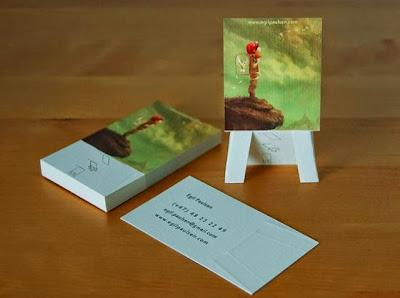 tarjetas de presentacion muy bonitas
