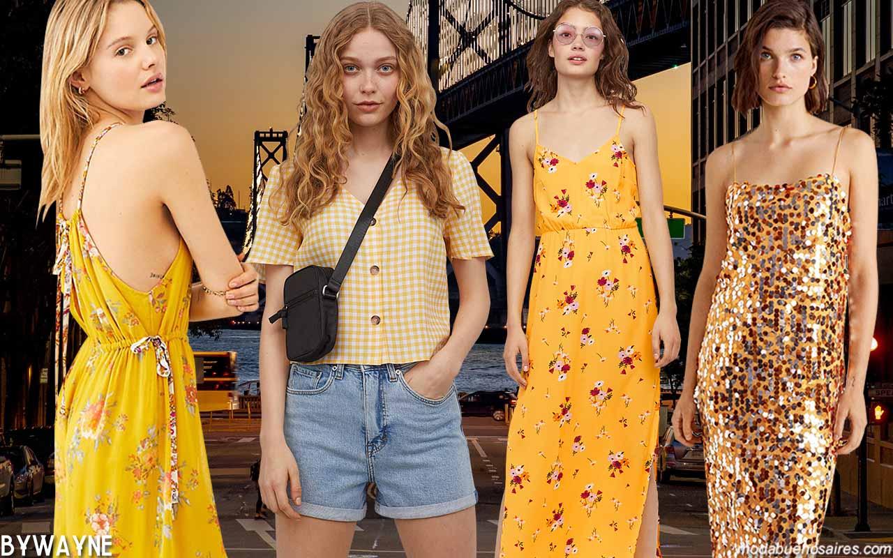 Colores de moda primavera verano 2020. Moda verano 2020 mujer.