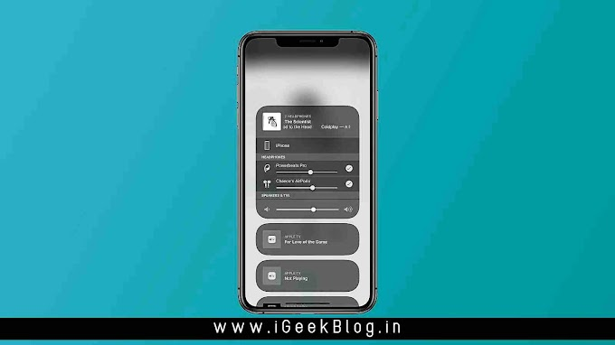How To Share Audio In iOS 13 | How To | iGeekBlogIndia