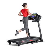 """Schwinn 810 Treadmill, with 2.6 chp motor, 2"""" crowned rollers, 20"""" x 55"""" belt, 0-10 mph speed range, 0-10% motorized incline range, 16 programs"""