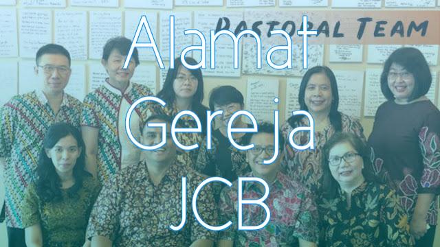 Alamat dan Nomor Telepon Jakarta City Blessing Church
