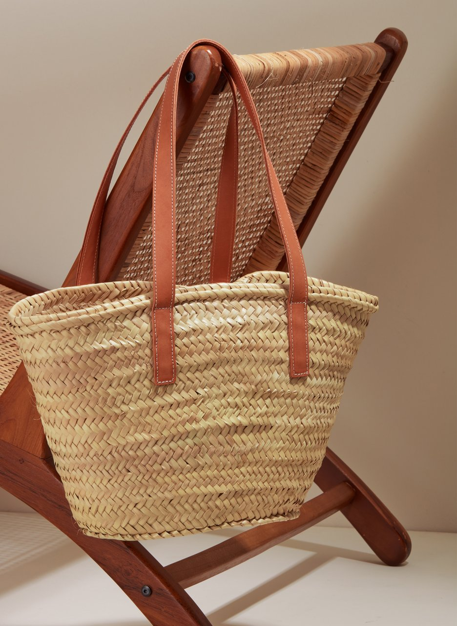 my midlife fashion, baukjen Cora straw bag