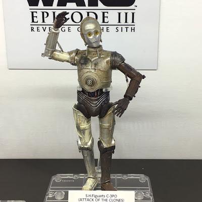 S.H.Figuarts Star Wars Ep.II C-3P0