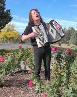 April Alsup at Botanic Garden