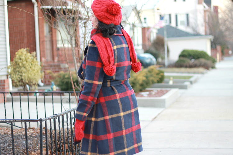 A Vintage Nerd Modcloth Retro Winter Coat Plus Size Fashion