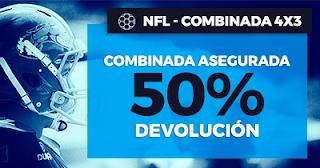 Paston Promoción NFL: Combinada 4x3 hasta 5 noviembre