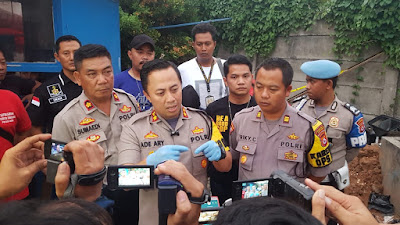 Polresta Tangerang ungkap dalang pemilik benda menyerupai bom