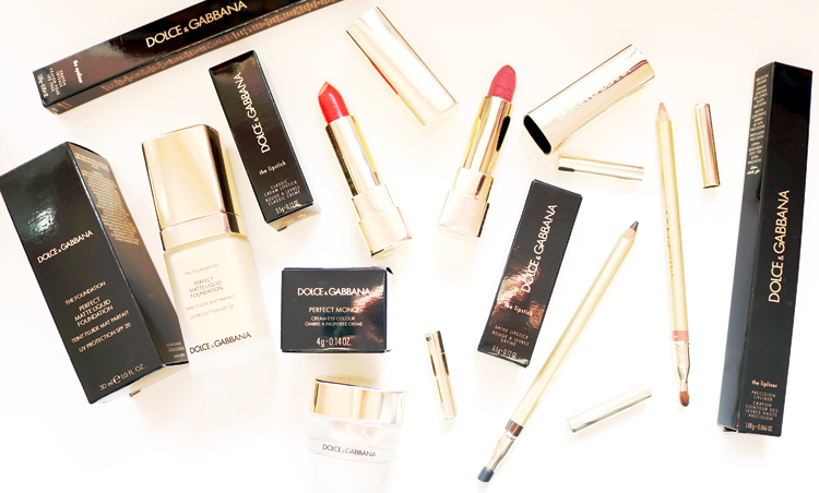 High End Beauty: Trying Out Dolce & Gabbanna Makeup - Review & Swatches