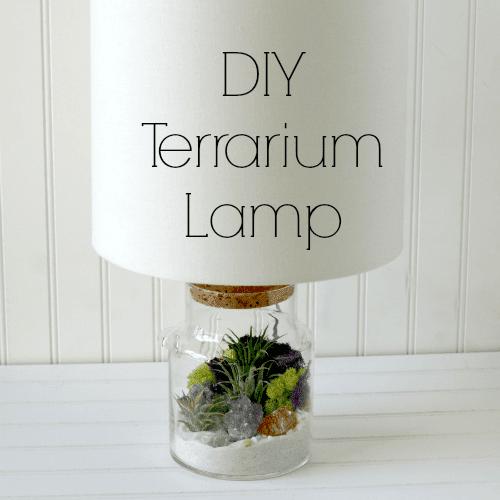 Lámpara terrario