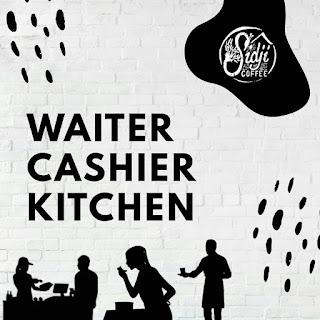 Loker Kudus sidjiloker nih yang dibutuhkan, ada posisi Waiter, Cashier, & Kitchen Dengan requirements sebagai berikut:  Pria / Wanita (khusus waiter harus cowok) Pendidikan min. SMA / Sederajat Bisa bekerja dalam tim Bisa bekerja PAGI HARI  Lamaran bisa dikirim ke kedai sidjicoffeespace pada saat jam operasinal berlangsung 😎 Good luck #temansidji 😊    Lokasi klik DISINI    #coffeeshopkudus  #sidjicoffeespace  #explorekudus  #seputarkudus  #kulinerkudus  #lokerkudus  #lokersidji    Web penyedia informasi lowongan kerja terupdate dengan tingkat keakuratan 99% hanya di KUDUSKERJA.ID kami tidak mempunyai akun sosial media selain web ini.