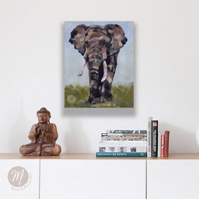 edward-elephant-painting-merrill-weber