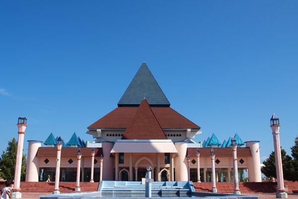 batako masjid an nur pare kediri