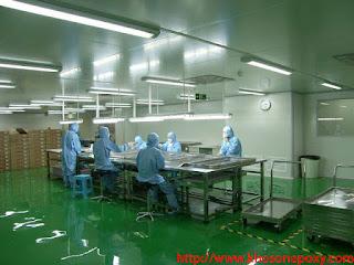sơn chống tĩnh điện cho nhà máy điện tử