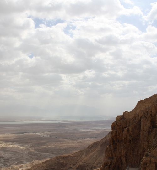 masada mountaintop fortress