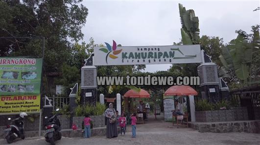 Wisata kampung Kahuripan cirangkong purwakarta