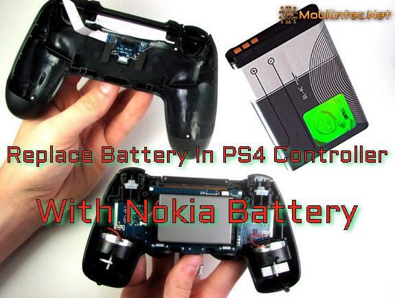 10 Steps To Replace Battery In PS4 Controller With Nokia Battery