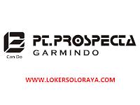 Loker Klaten Staff Accounting Lulusan S1 di PT Prospecta Garmindo