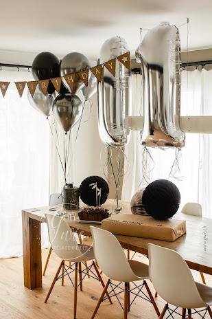 folienballon, zahlenballon, 11. geburtstag, wimpelkette, gwiegabriela, gwie, geburtstag glenn