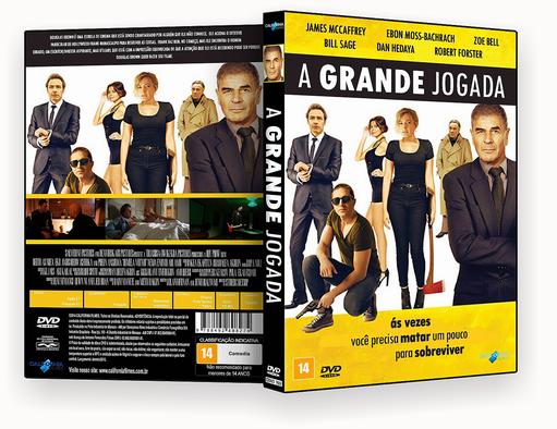 A Grande Jogada 2018 Dublado DVD-R – CAPA DVD