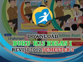 Kalau kemarin admin pos madrasah memposting buku K Geveducation:  # Buku K13 Kelas 1 Revisi 2017 SD/MI Semester 2 Terbaru