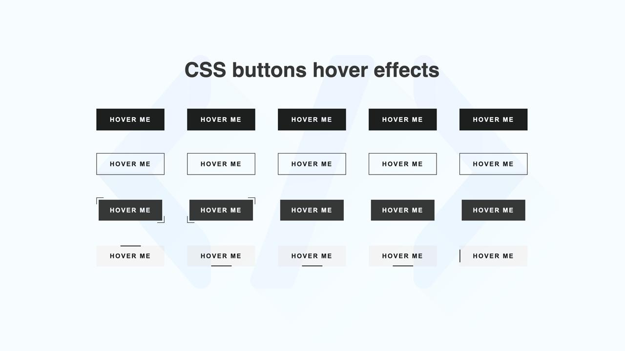 Share code bộ button với 21 hiệu ứng hover tuyệt đẹp