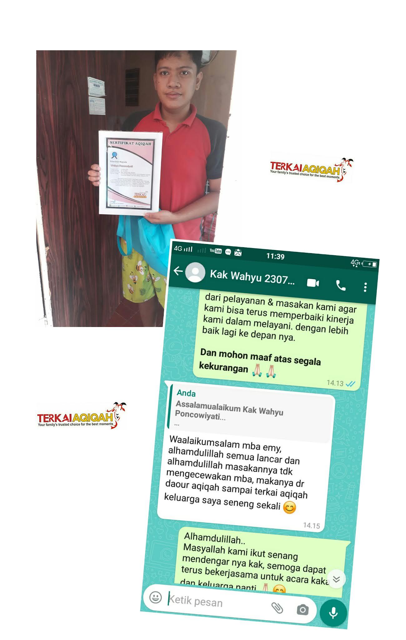 0857 8026 7758 Layanan Aqiqah di Bekasi Selatan Gratis Handuk & Tasbih Dalam Box