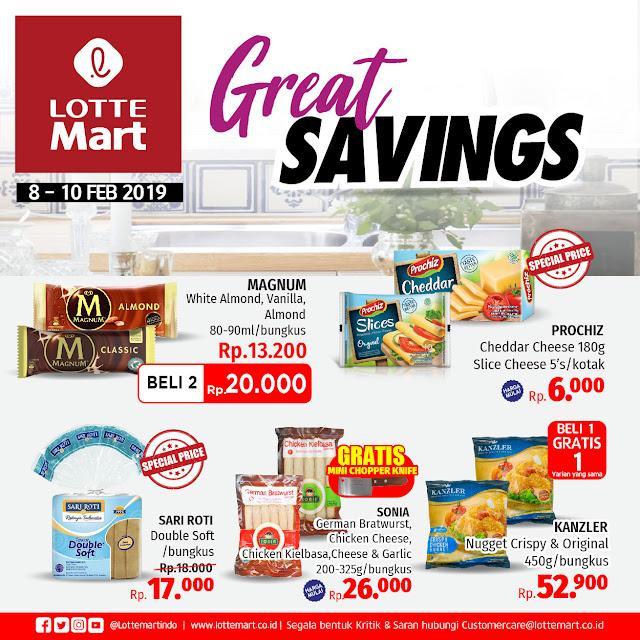 #LotteMart - #Promo #Katalog Periode 08 - 10 Februari 2019