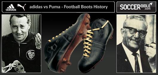 geschichte von adidas und puma