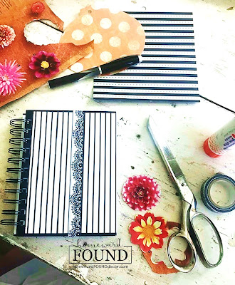 art, art class, boho style, color, crafting, DIY, dollar store crafts, garden art, gift wrapping, magazines, paper, paper crafts, re-purposing, spring, summer, trash to treasure, up-cycling, journals, notebook covers, journal art, mixed media art