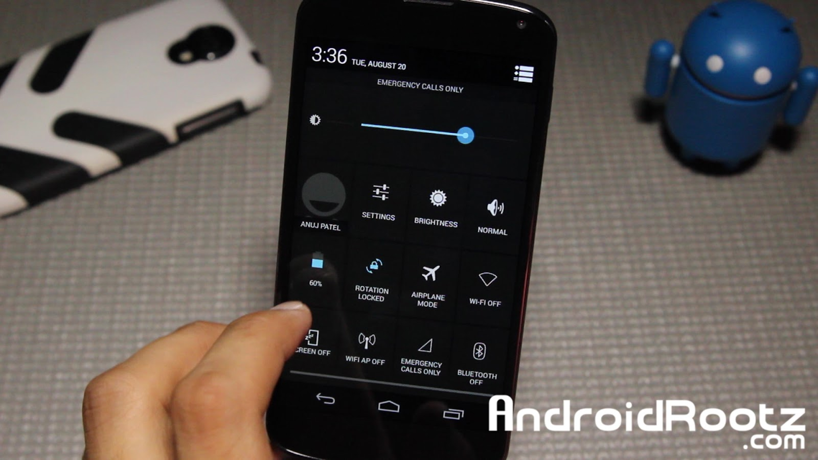 Pure Speed eXperiment (PSX) ROM for Nexus 4! ~ AndroidRootz com