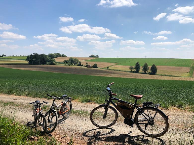 Radtour durch den Kraichgau bei Kaiserwetter