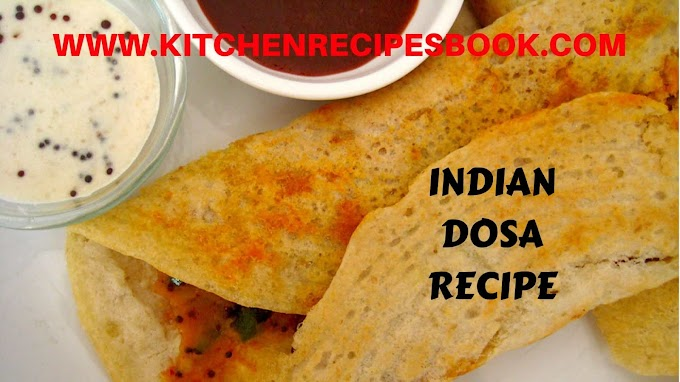 INDIAN DOSA RECIPE | MAKING OF INDIAN DOSA RECIPE