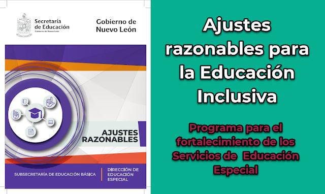 Ajustes razonables para la Educación Inclusiva