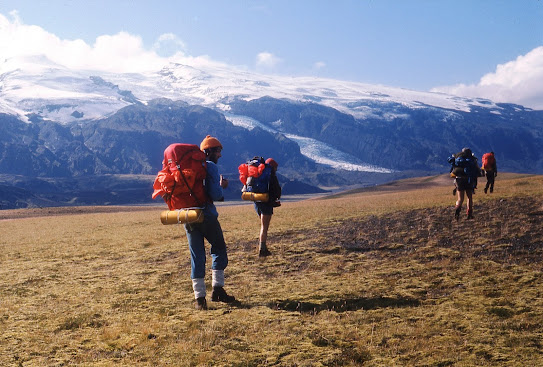Iceland 1977: south towards the Markarfljot valley