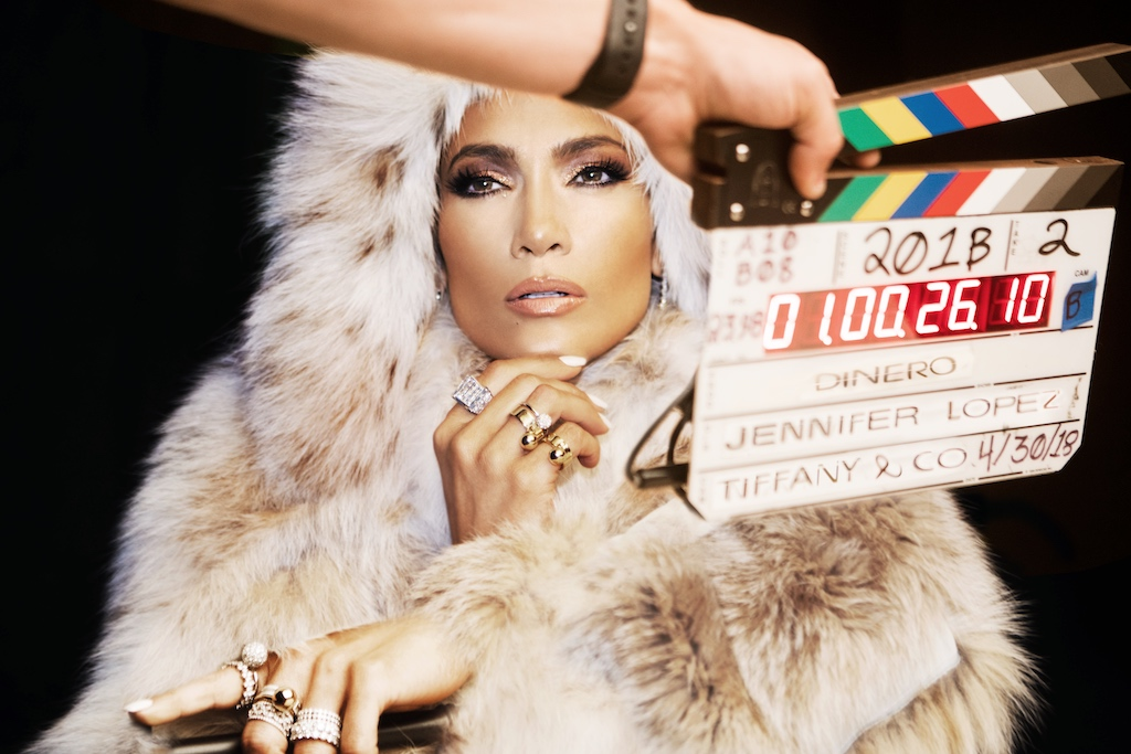 JLo Wears $4.5 Million In Tiffany & Co. Diamonds For Dinero Music Video With Cardi B & DJ Khaled