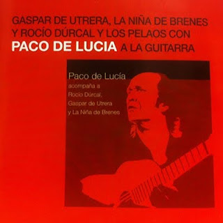 "GASPAR DE UTRERA; PACO DE LUCÍA, RAMON DE ALGECIRAS ""PACO DE LUCÍA A COMPQÑA A ROCÍO DURCAL, GASPAR DE UTRERA Y LA NIÑA DE BRENES"" PHILIPS 2005 CD"