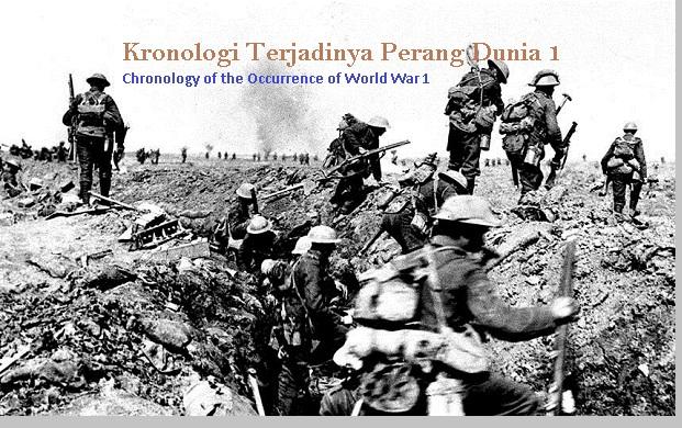 Kronologi perang dunia 1 - pustakapengetahuan.com