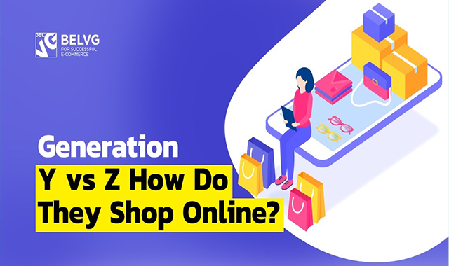 Purchase Habits for Generation Z vs Generation Y #infographic