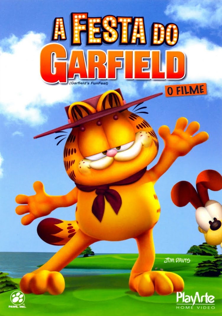 Assistir A Festa do Garfield Dublado Online 2008
