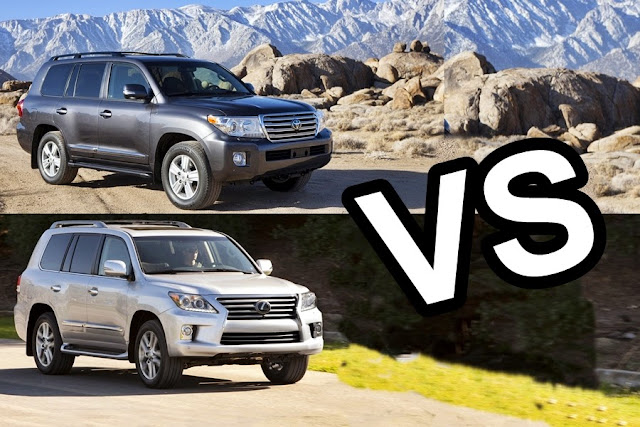 Toyota Land Cruiser hay Lexus LX570 ?