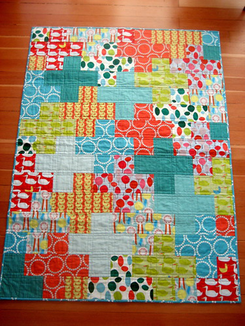 Modern Plus Quilt - Tutorial