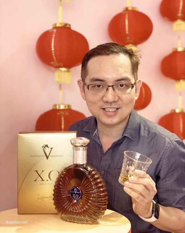 Savouring the Napoleon V Marengo XO Brandy