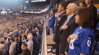 Mike Pence Walks Out Of NFL Because Of Kneeling Protest
