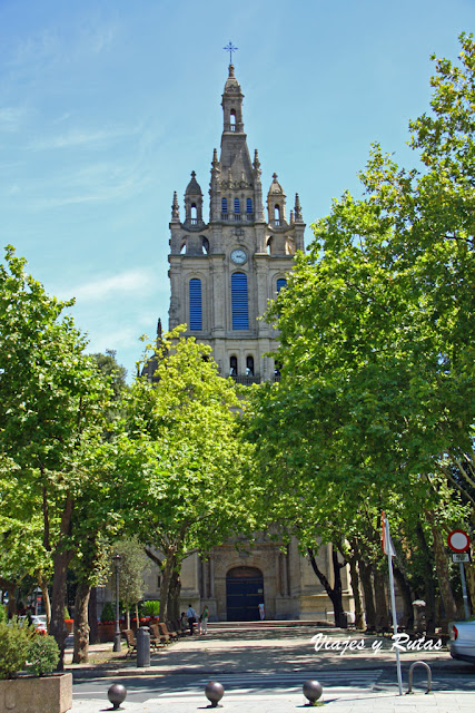 Iglesia de Begoña de Bilbao