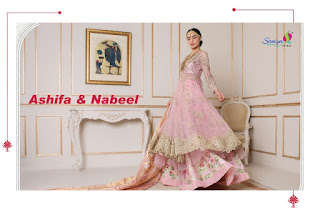 Saniya Trendz Ashifa nabeel pakistani Suits Catalog