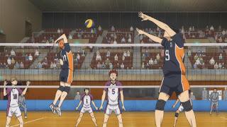 ハイキュー!! アニメ 3期3話 影山飛雄 日向翔陽   Karasuno vs Shiratorizawa   HAIKYU!! Season3