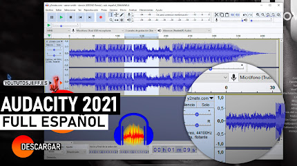 Como Descargar Audacity Ultima Version 2021 FULL ESPAÑOL